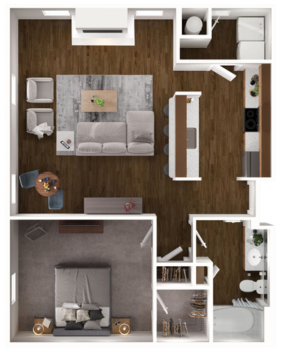Newton (Brownstone) floor plan